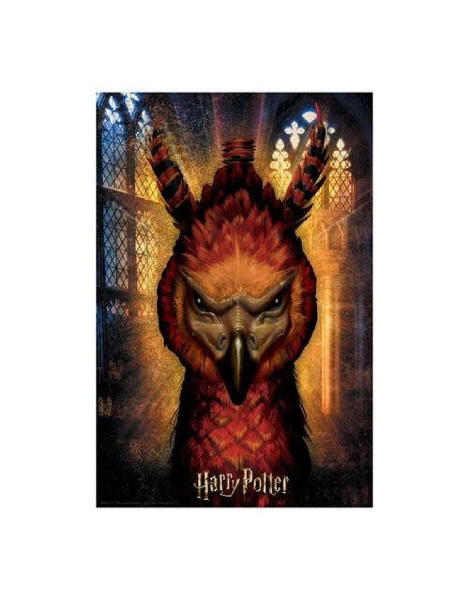 HARRY POTTER Lenticular Puzzle 300P - Fawkes