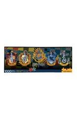 Aquarius Ent HARRY POTTER Slim Puzzle 1000P - Crests