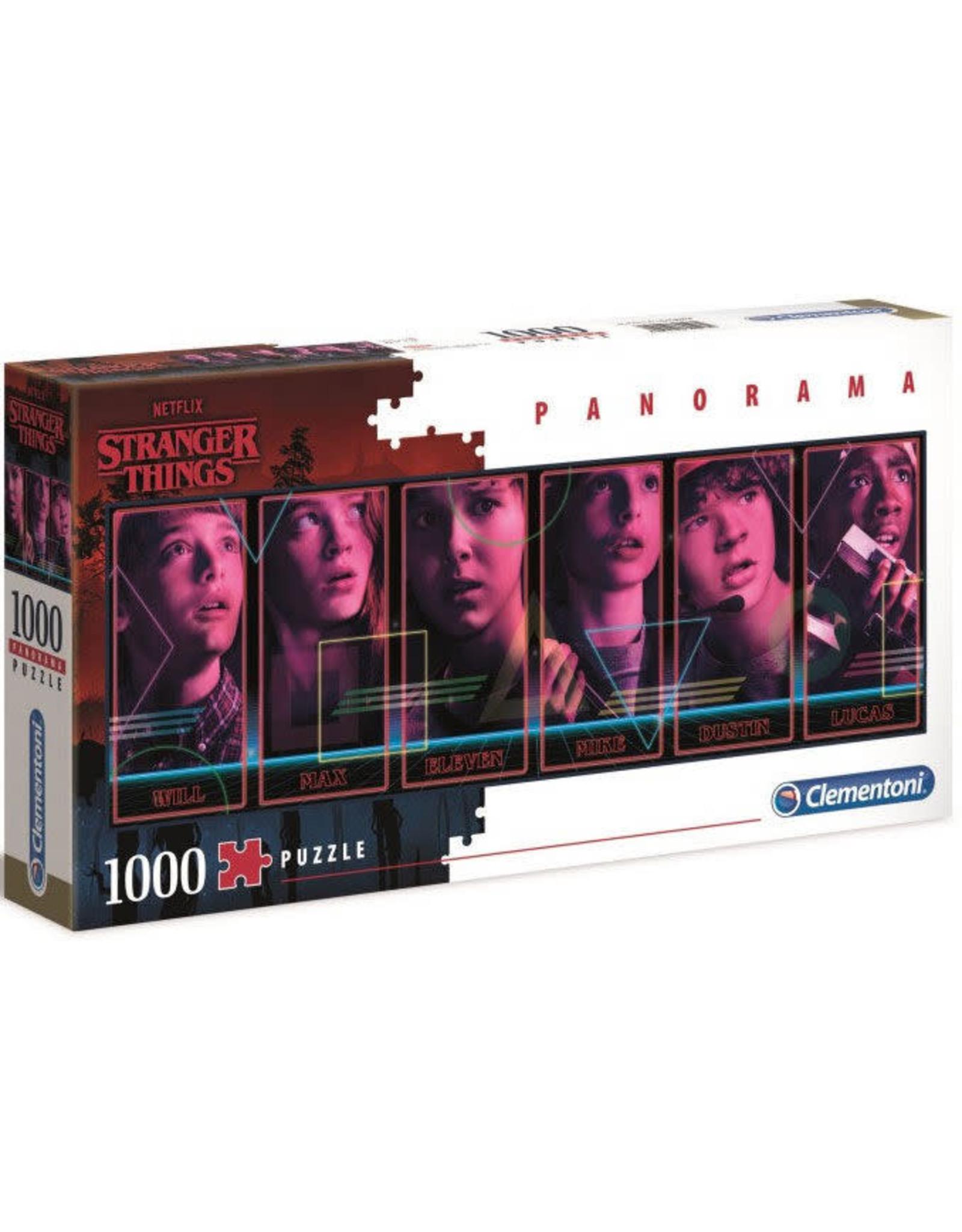 Clementoni STRANGER THINGS Panorama Puzzle 1000P