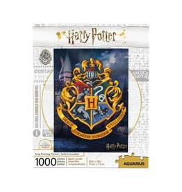 Aquarius Ent HARRY POTTER Puzzle 1000P - Hogwarts Logo