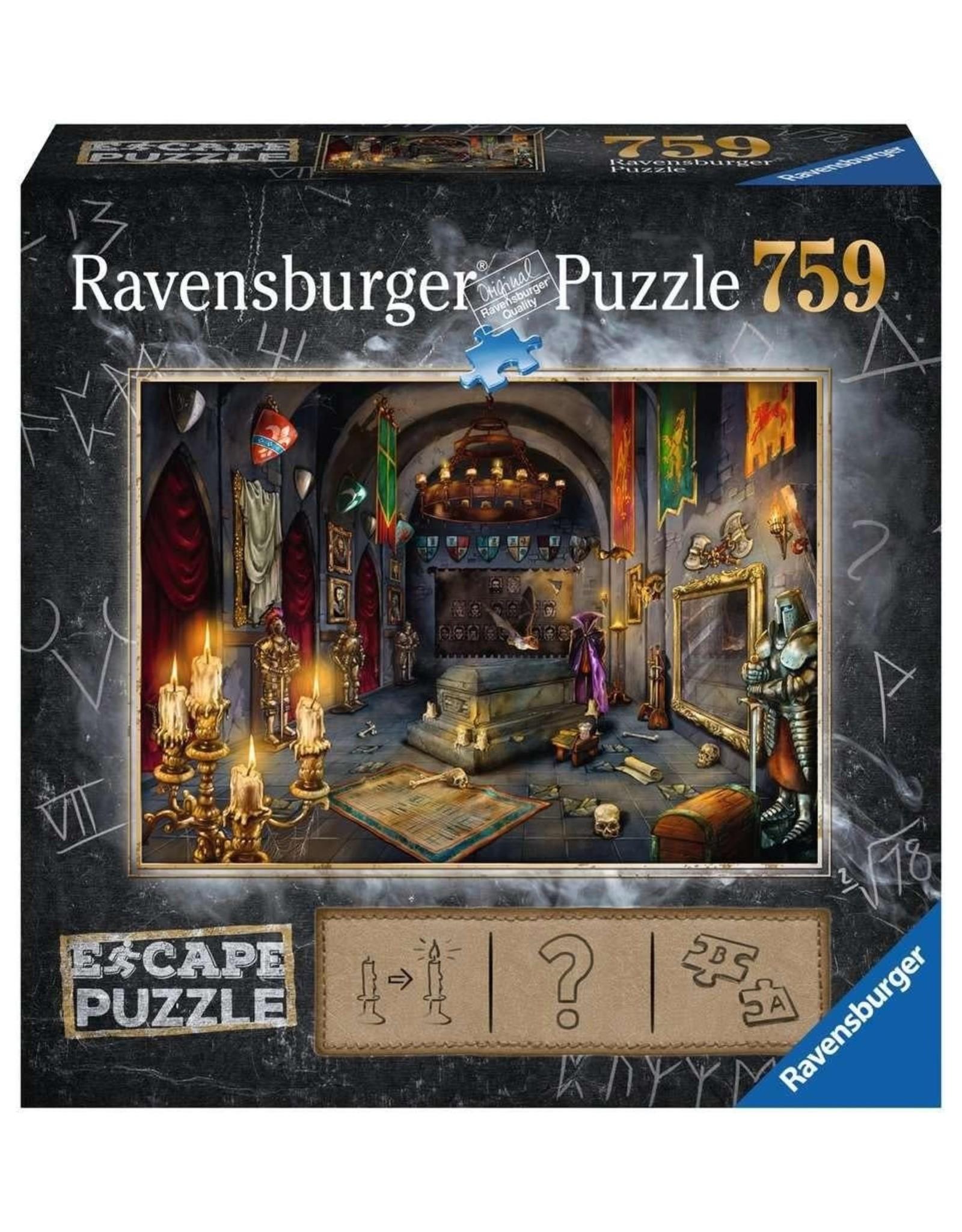 Ravensburger ESCAPE Puzzle 759P - 06 Kasteel van de Vampier