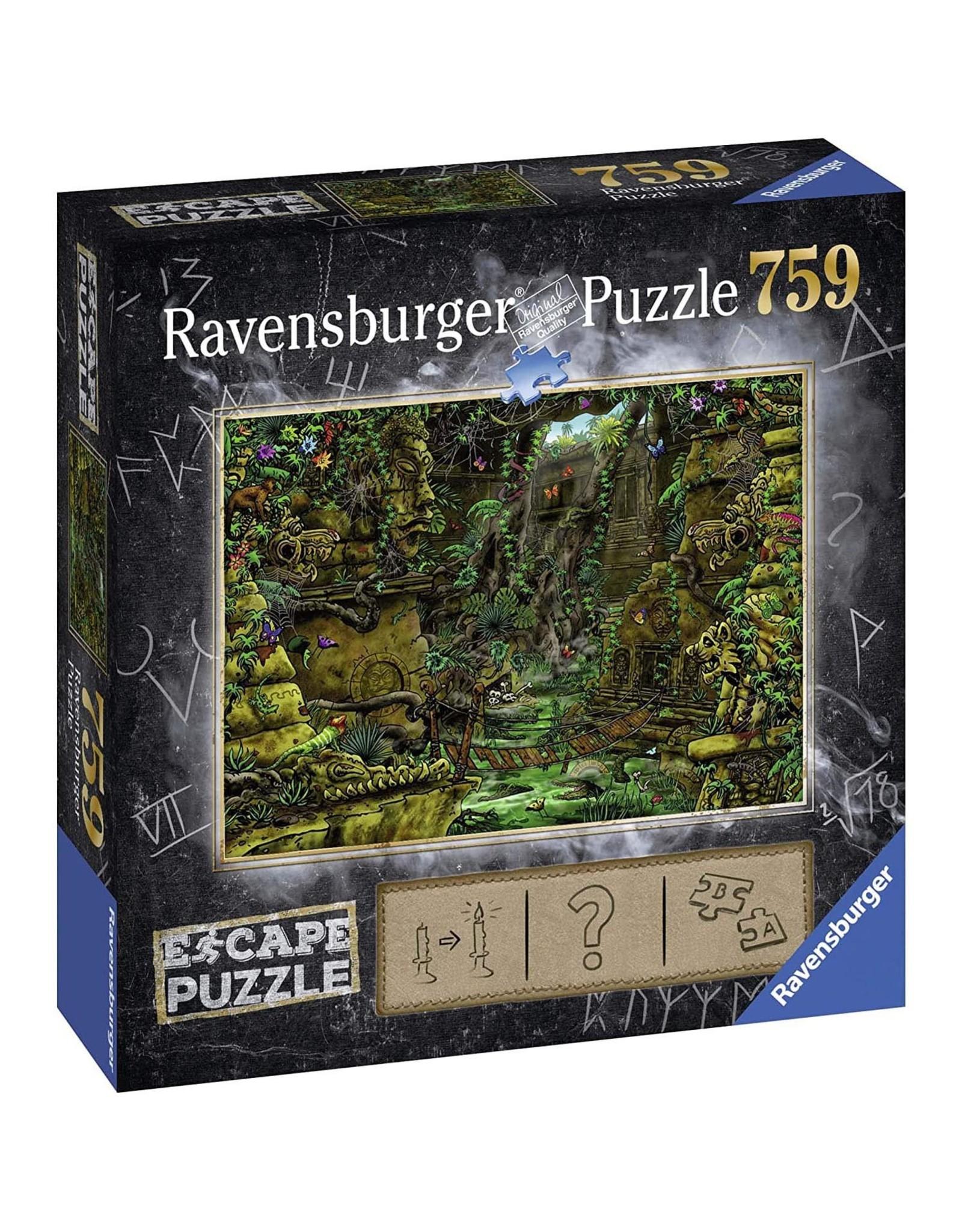 Ravensburger ESCAPE Puzzle 759P - 08 Tempel van Ankor