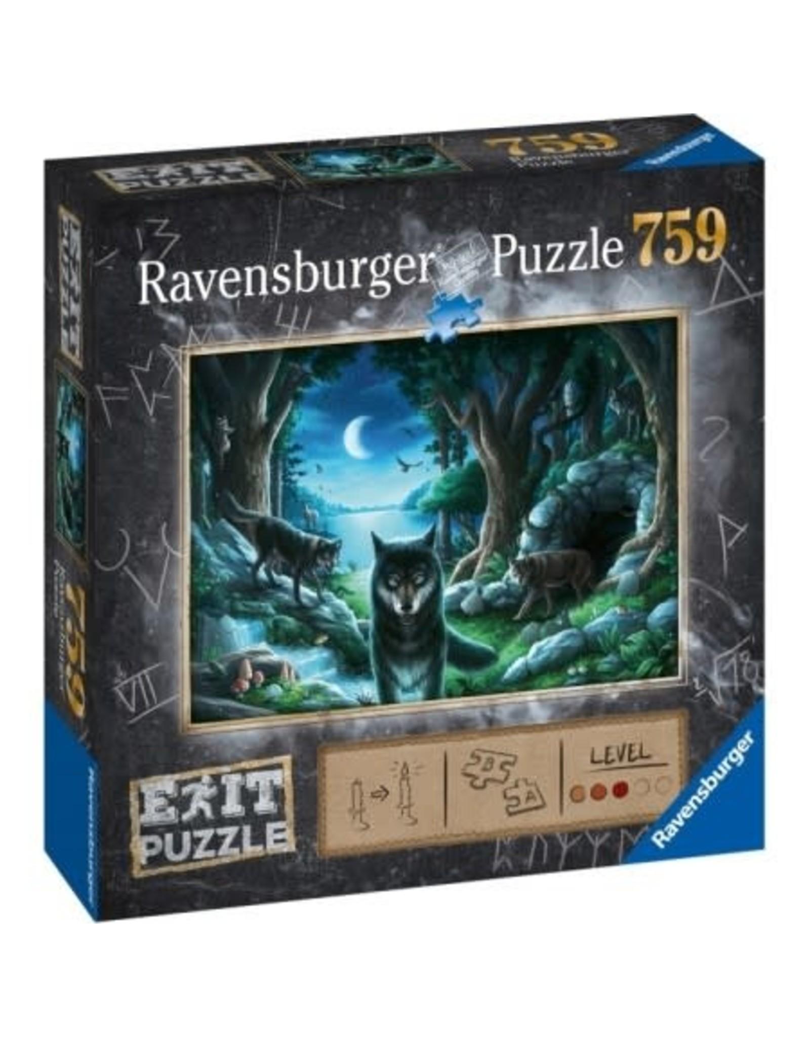 Ravensburger ESCAPE Puzzle 759P - 01 The Curse of The Wolves
