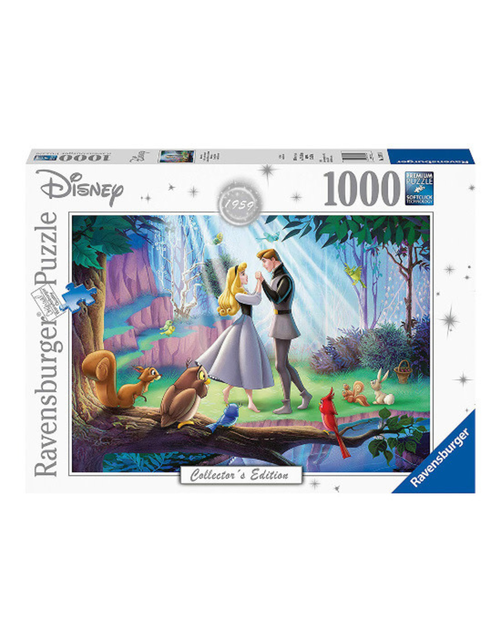 Ravensburger SLEEPING BEAUTY Puzzle 1000P - Collector's Edition