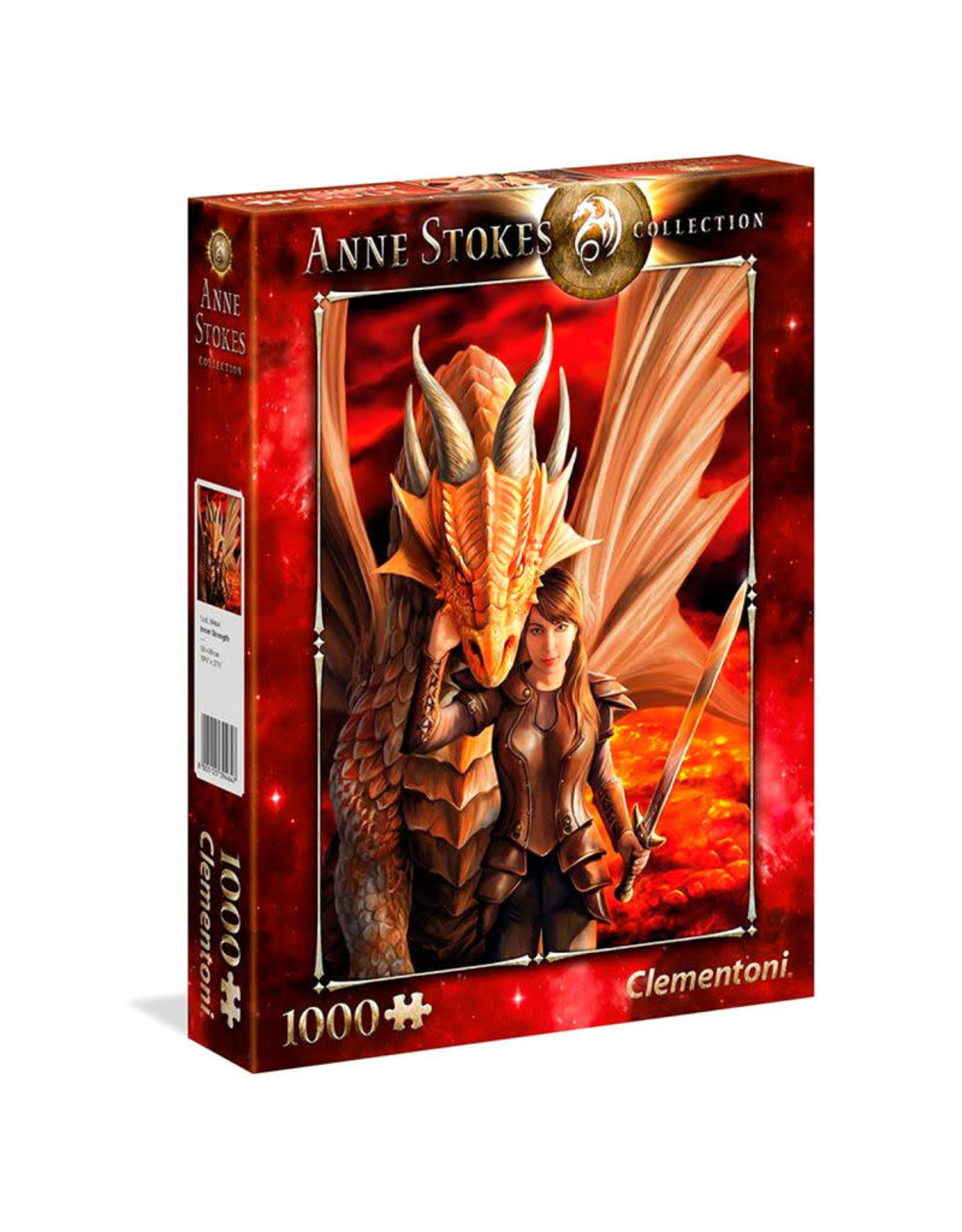 Clementoni ANNE STOKES Puzzle 1000P - Inner Strength