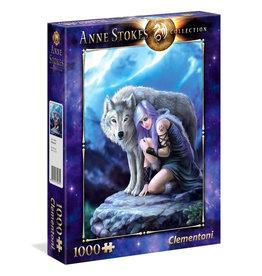 Clementoni ANNE STOKES Puzzle 1000P - Protector