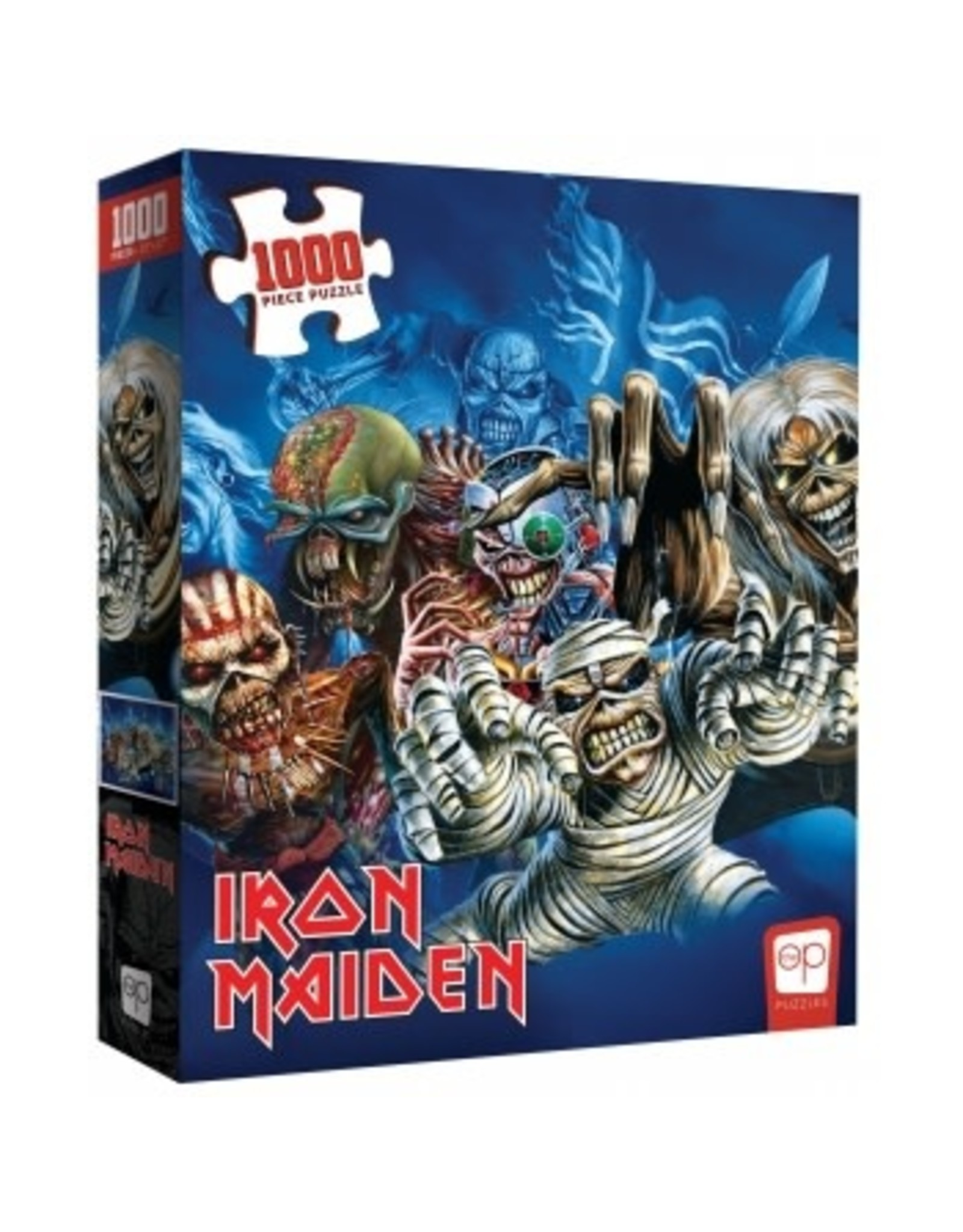 USAopoly IRON MAIDEN Puzzle 1000P - The Faces of Eddie