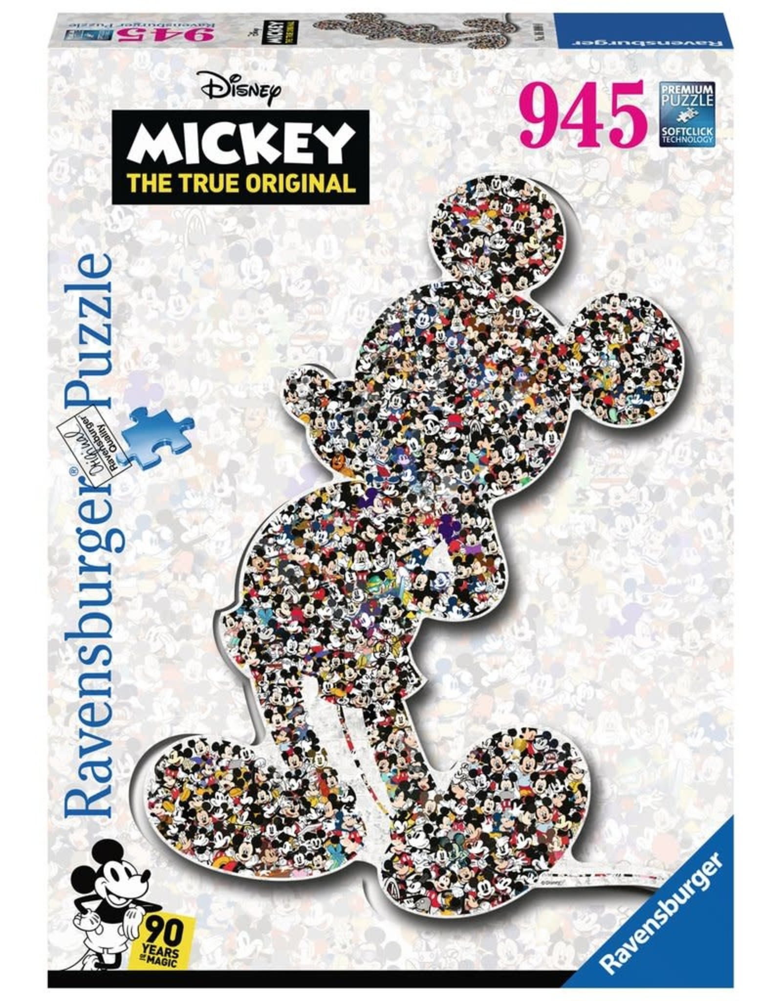 Ravensburger MICKEY MOUSE Puzzle 945P - Shaped Mickey