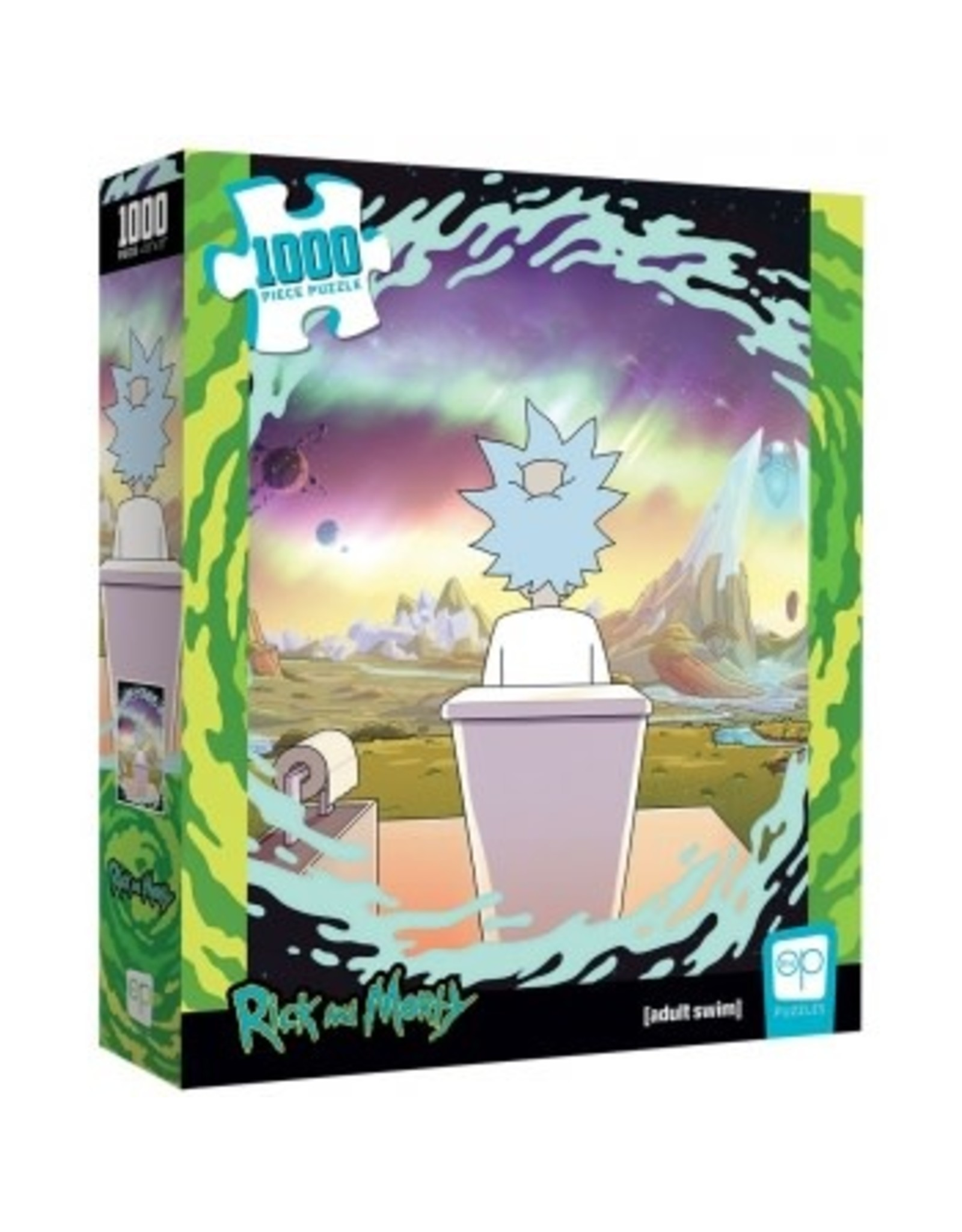 USAopoly RICK AND MORTY Puzzle 1000P - Shy Pooper