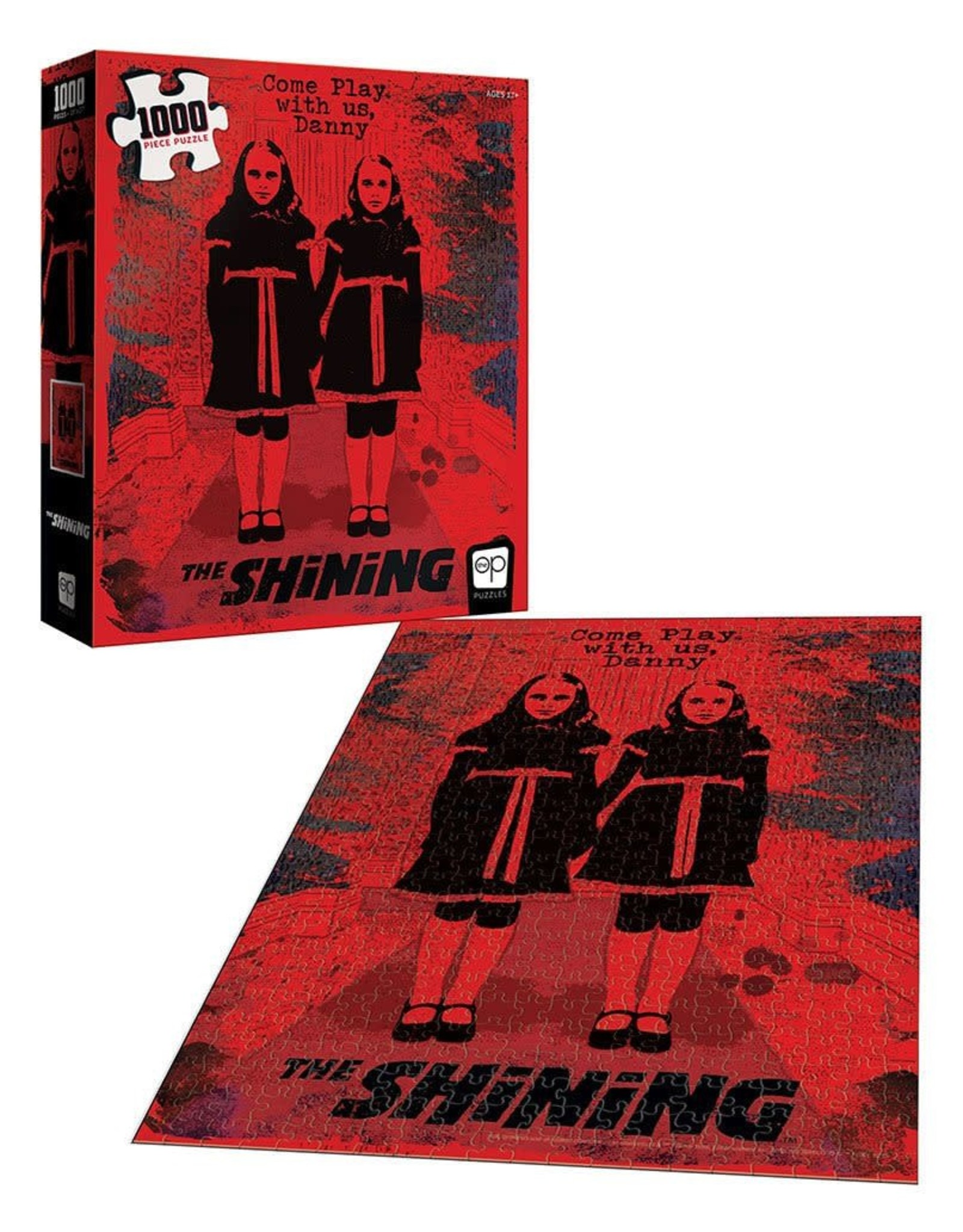 USAopoly THE SHINING Puzzle 1000P - Come Play With Us