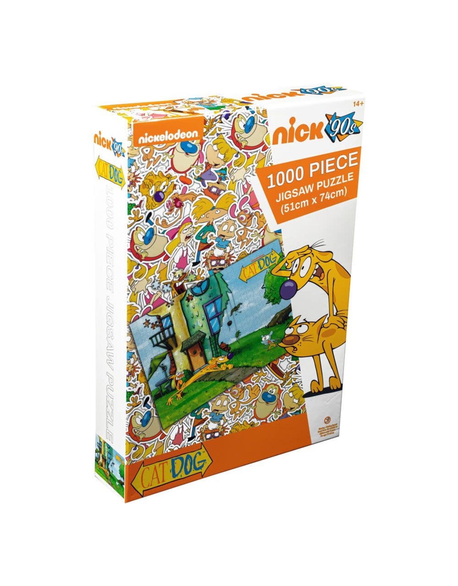 Ikon Collectables CATDOG Puzzle 1000P - Yard