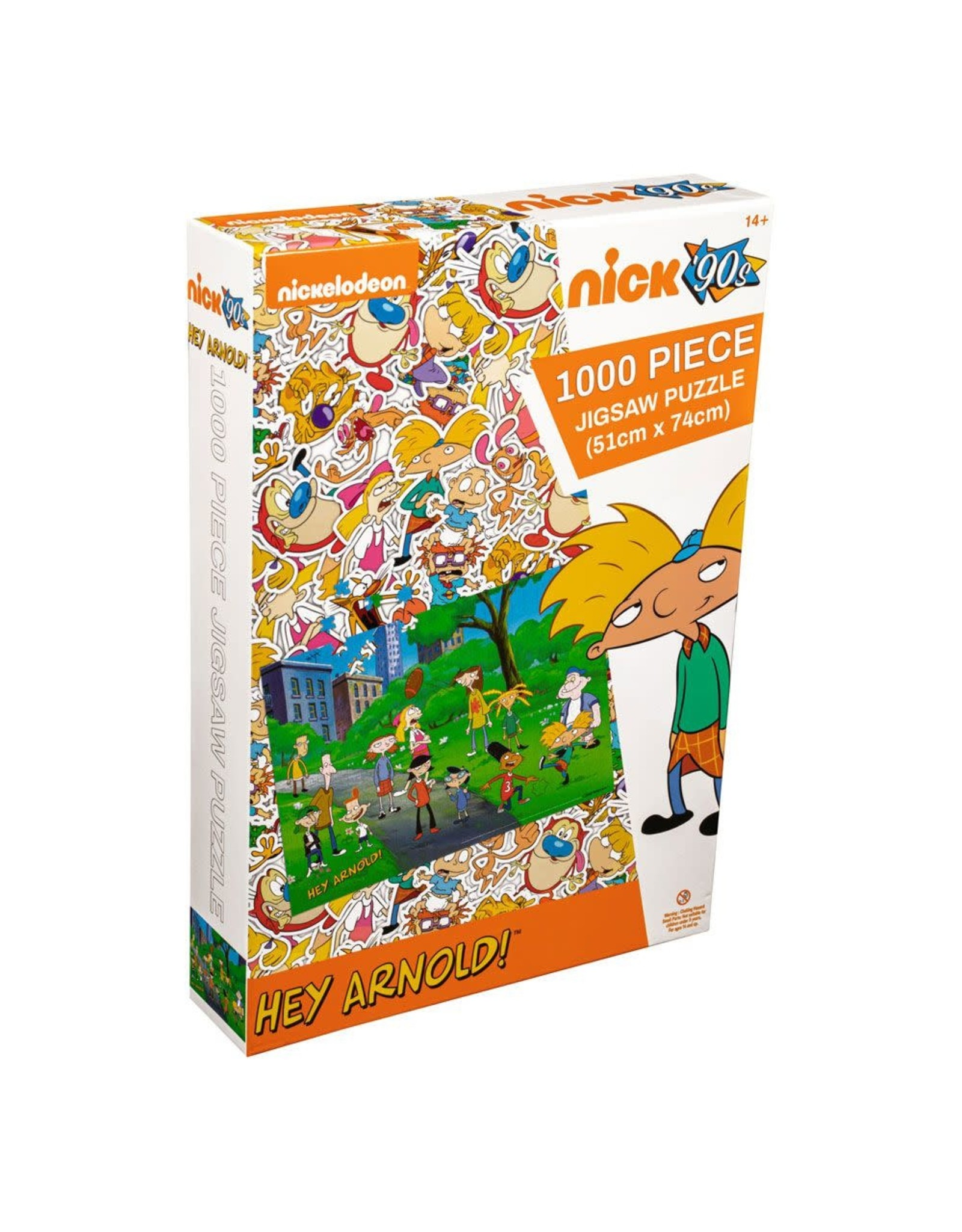 Ikon Collectables HEY ARNOLD! Puzzle 1000P - Park
