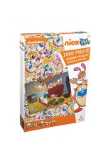 Ikon Collectables REN AND STIMPY Puzzle 1000P - Eediot