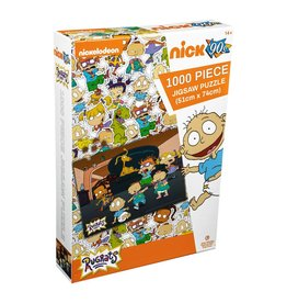 Ikon Collectables RUGRATS Puzzle 1000P - Lounge Room