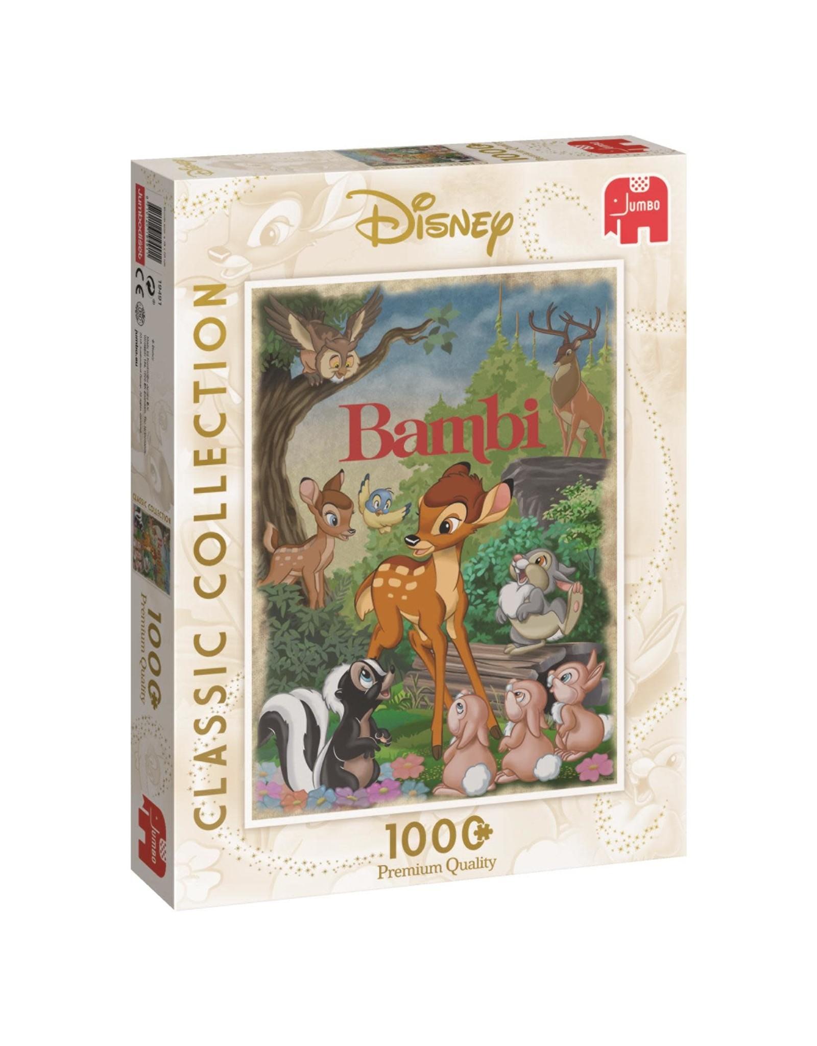 Jumbo DISNEY CLASSIC COLLECTION Puzzle 1000P - Bambi