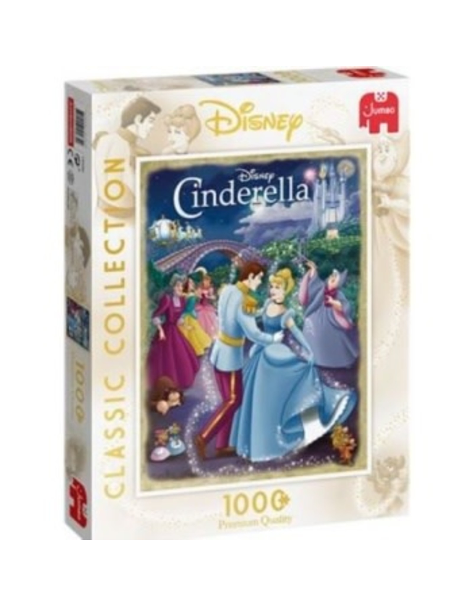 Jumbo DISNEY CLASSIC COLLECTION Puzzle 1000P - Cinderella