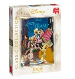 Jumbo DISNEY CLASSIC COLLECTION Puzzle 1000P - The Lady and the Tramp