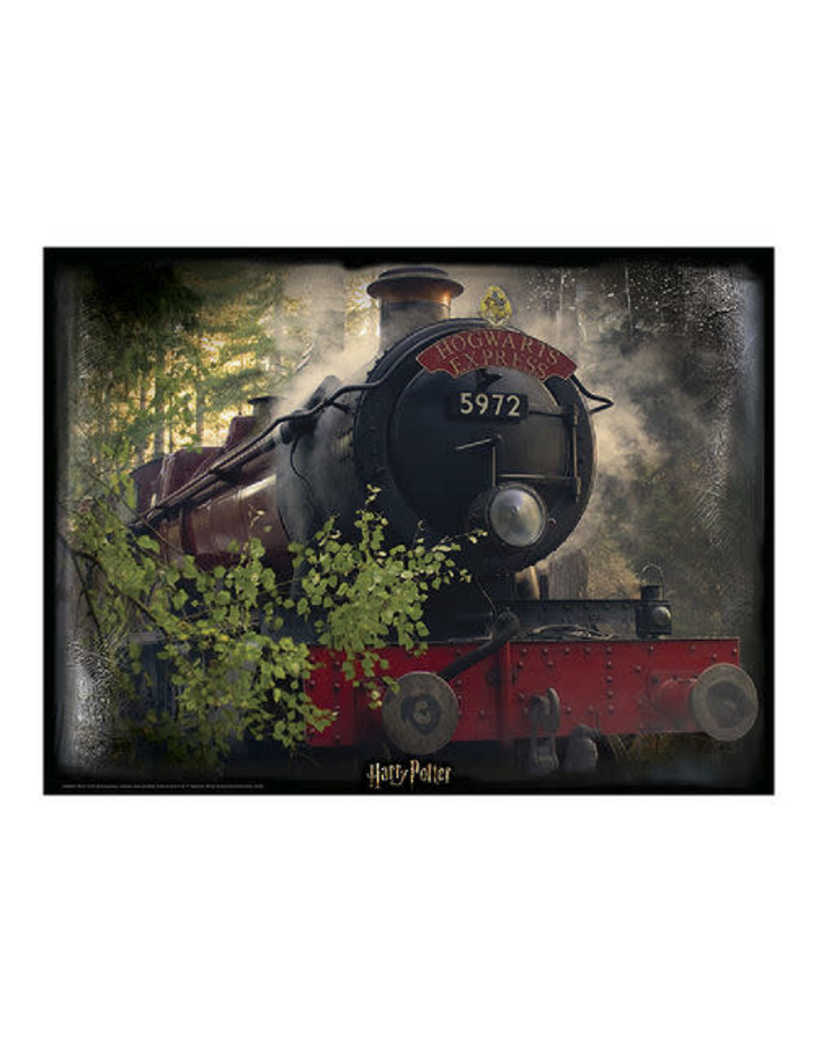 HARRY POTTER Lenticular Puzzle  500P - Hogwarts Express