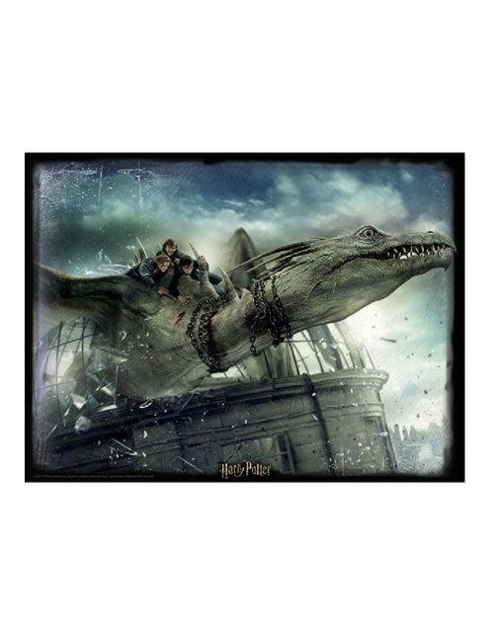 HARRY POTTER Lenticular Puzzle 500P - Dragon