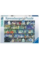 Ravensburger FANTASIA Puzzle 2000P - De Gifkast