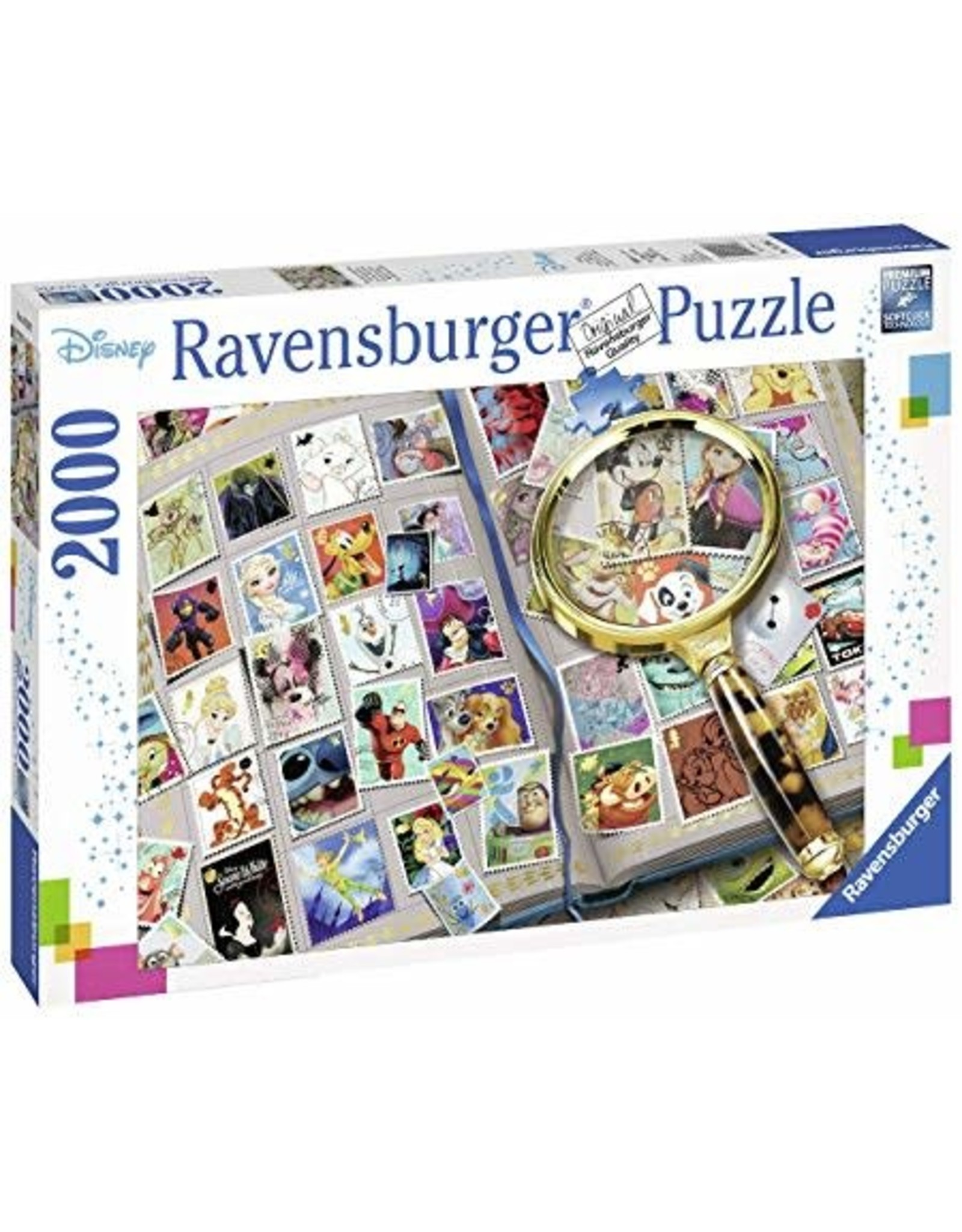 Ravensburger DISNEY Puzzle 2000P - My Favourite Stamps