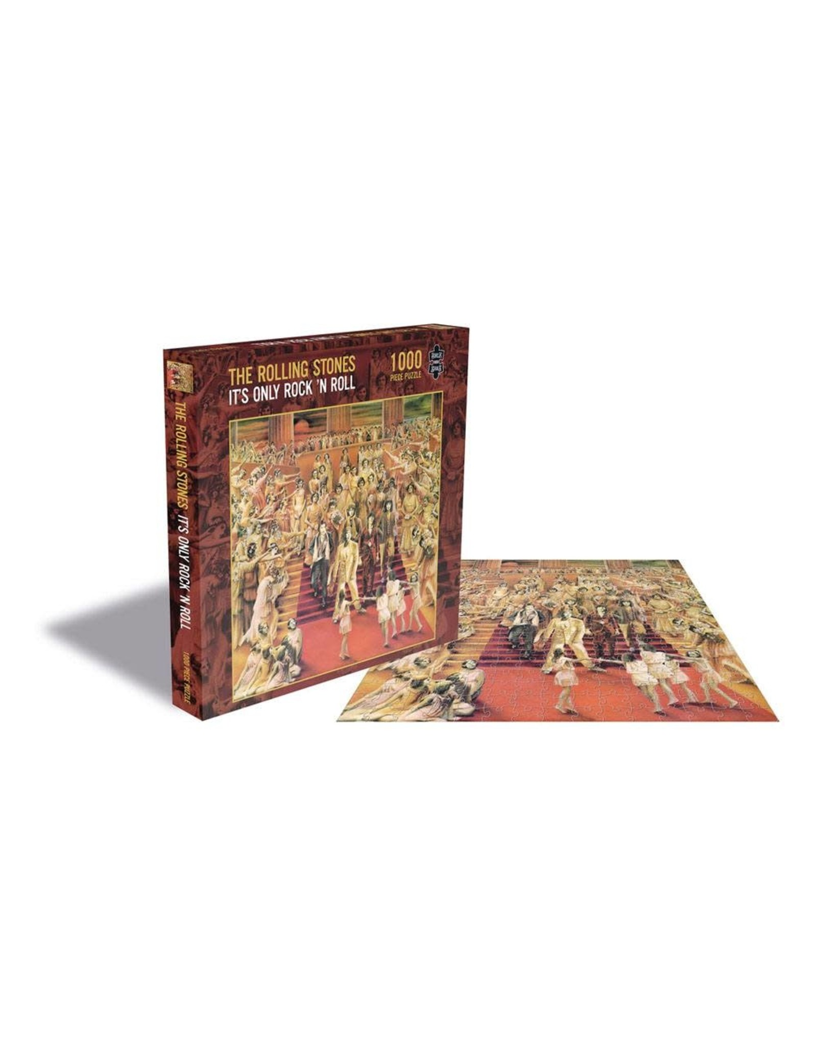 PHD Merchandise THE ROLLING STONES Rock Saws Jigsaw Puzzle 1000P - It´s Only Rock N´Roll