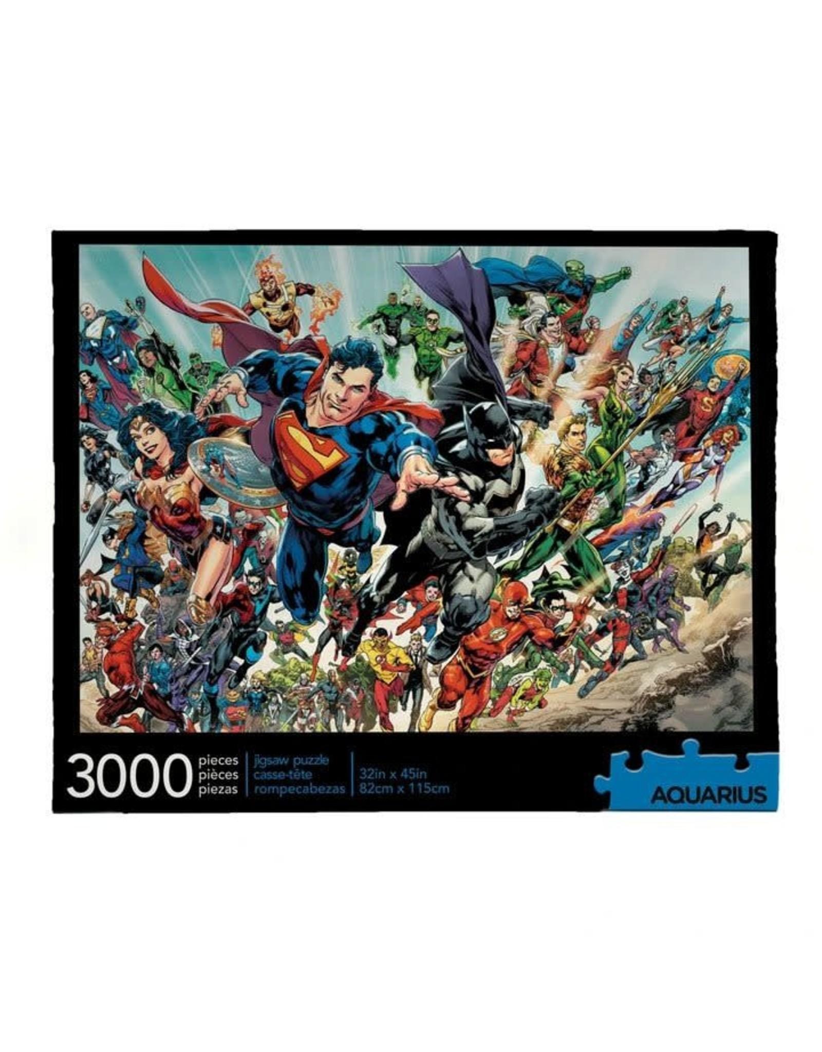 Aquarius Ent DC COMICS Puzzle 3000P - Cast