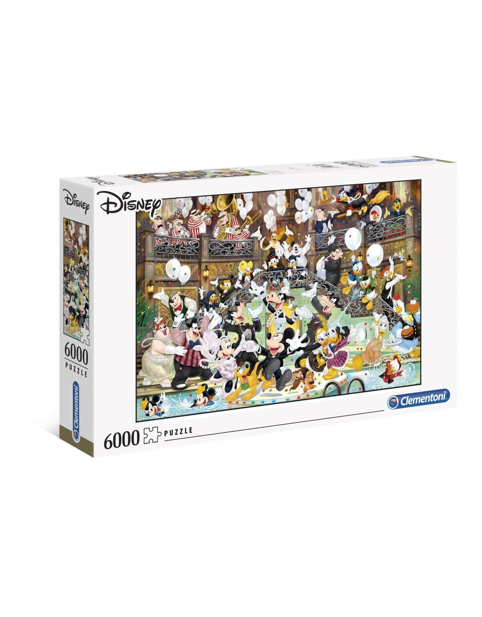 Clementoni DISNEY Masterpiece  Puzzle 6000P - Character Gala