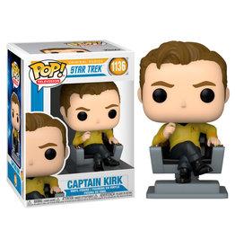 Funko STAR TREK POP! N° 1136 - Captain Kirk in Chair