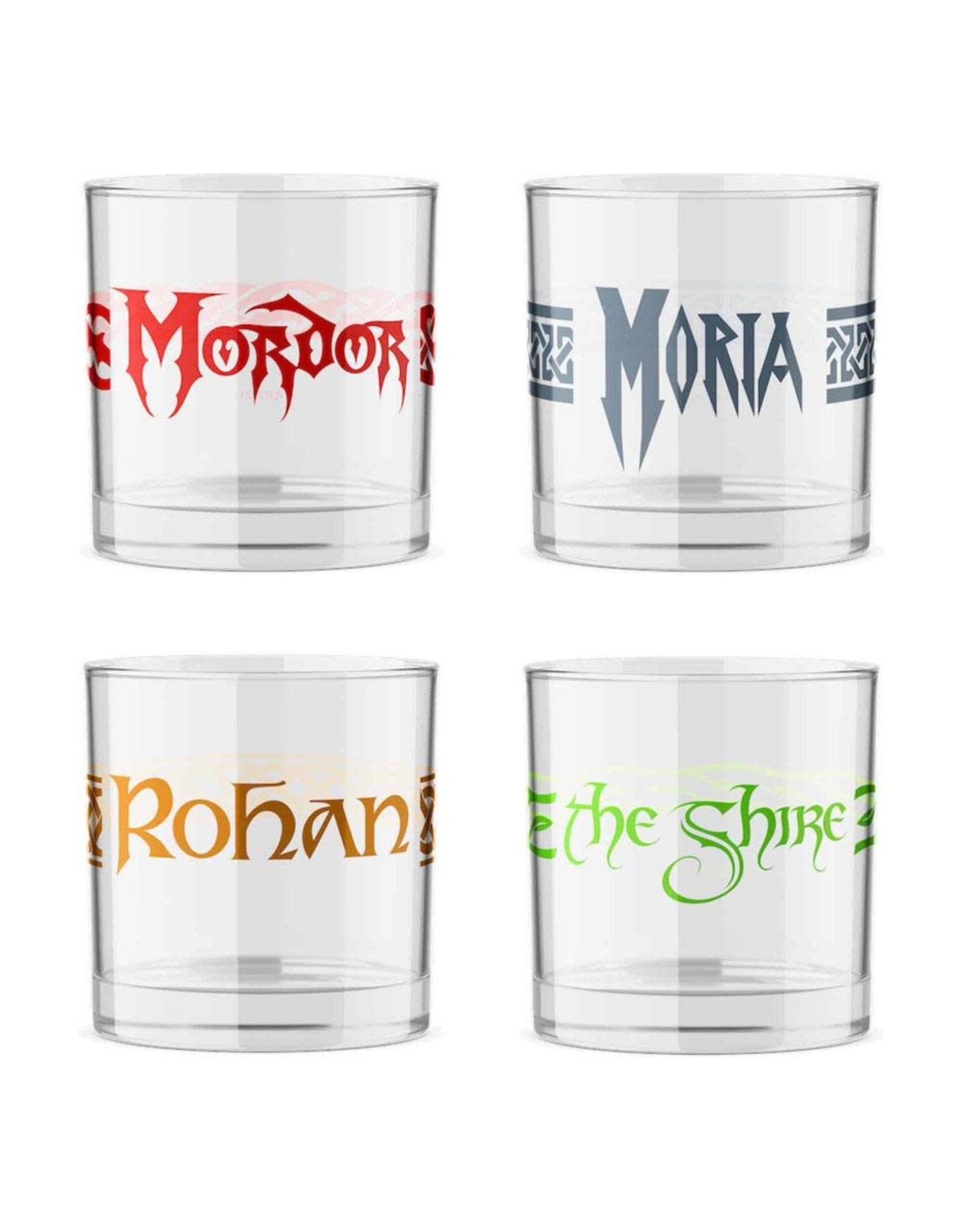 SD Toys LORD OF THE RINGS Shot Glasses
