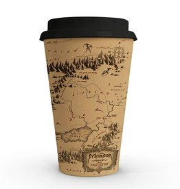 SD Toys LORD OF THE RINGS 20th Anniversary Coffee Mug - Map Of Mordor