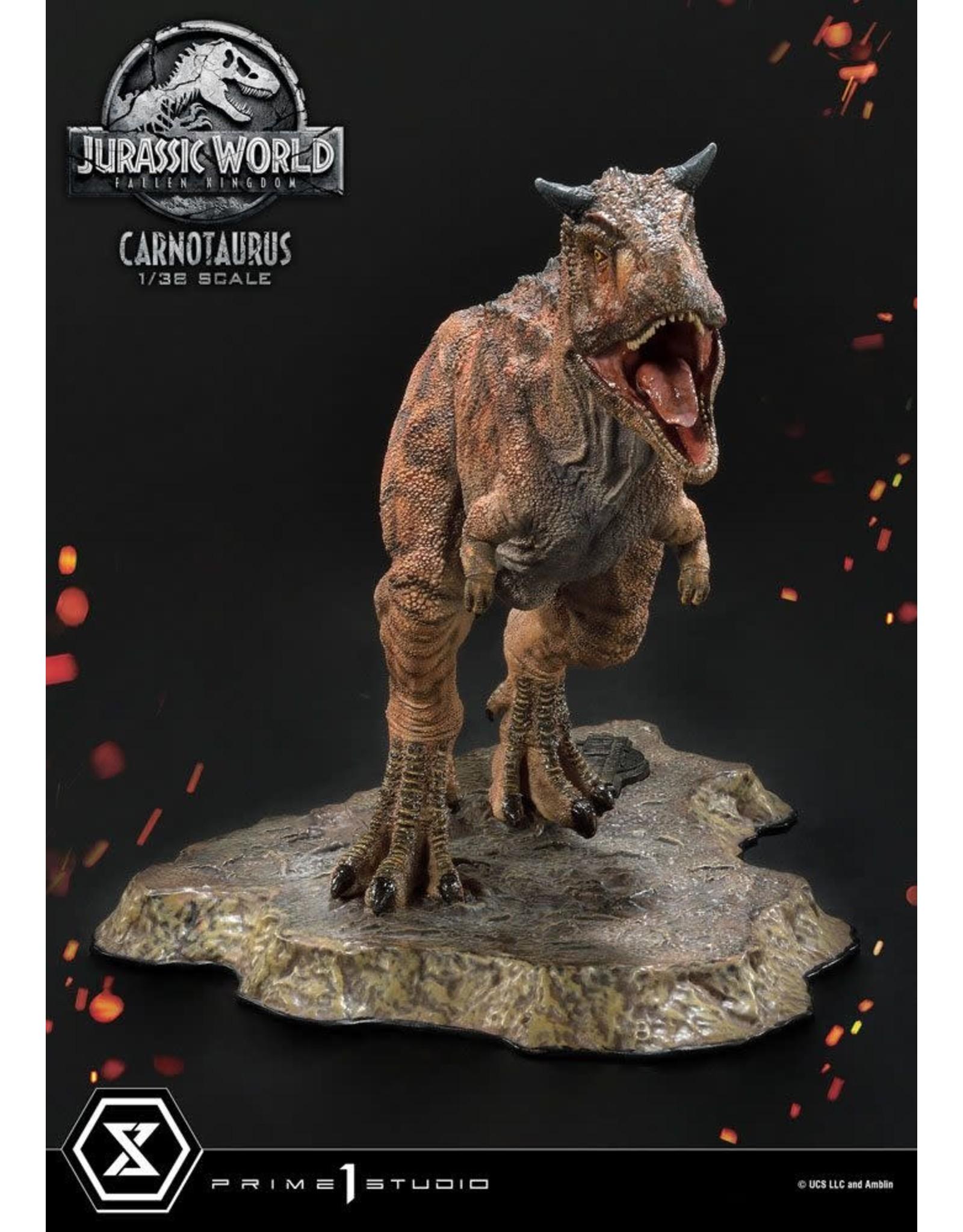 Prime 1 Studio JURASSIC WORLD: Fallen Kingdom Prime Collectibles PVC Statue 1/38 16cm -  Carnotaurus