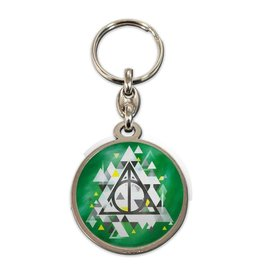 HARRY POTTER Metal Keychain - Deathly Hallows