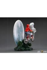 Iron Studios E.T. THE EXTRA TERRESTRIAL Deluxe Art Scale Statue 1/10  - E.T. & Elliot