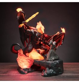 LORD OF THE RINGS Lamp 41cm - Balrog vs Gandalf
