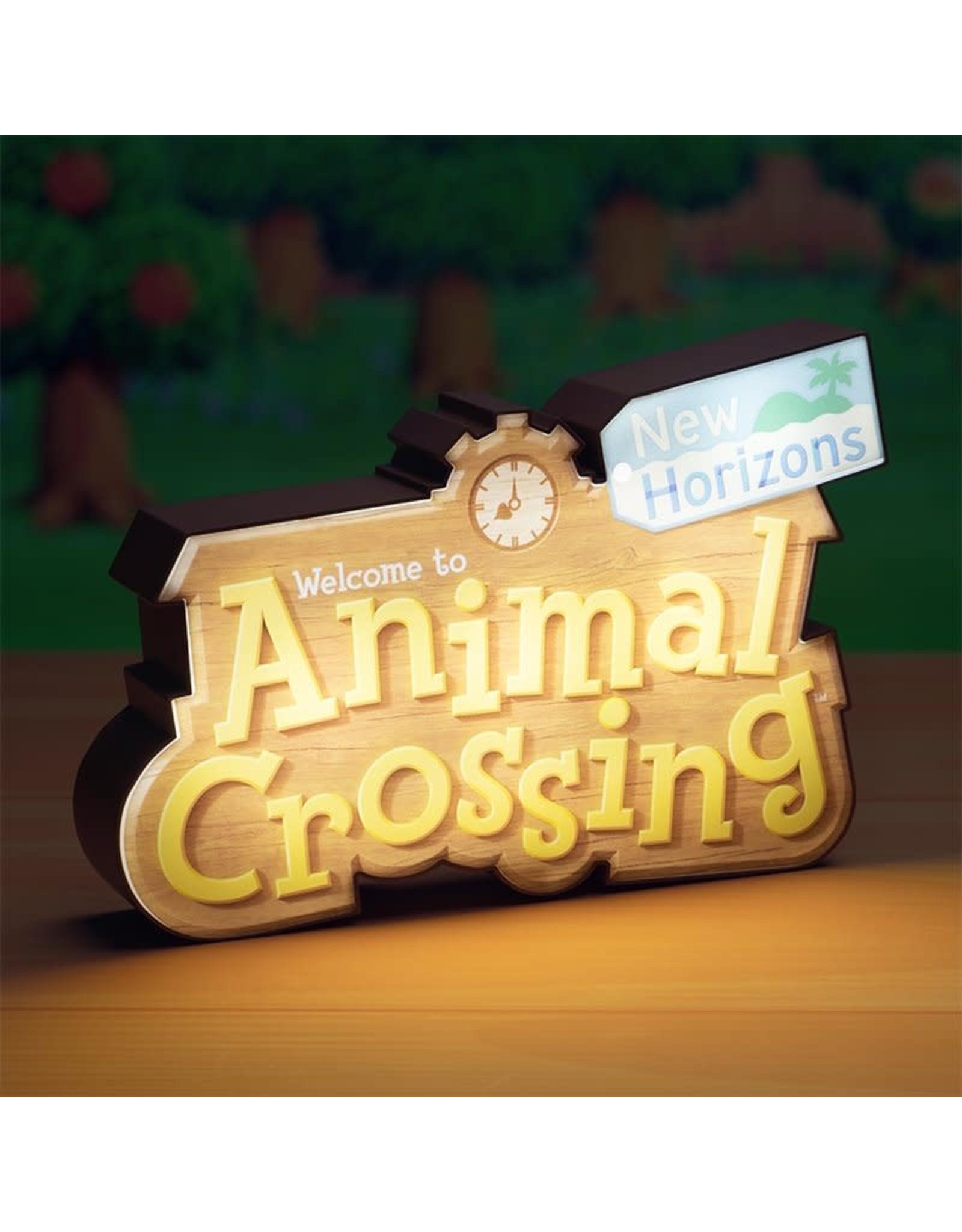Paladone ANIMAL CROSSING Lamp 31cm x  15cm - Logo