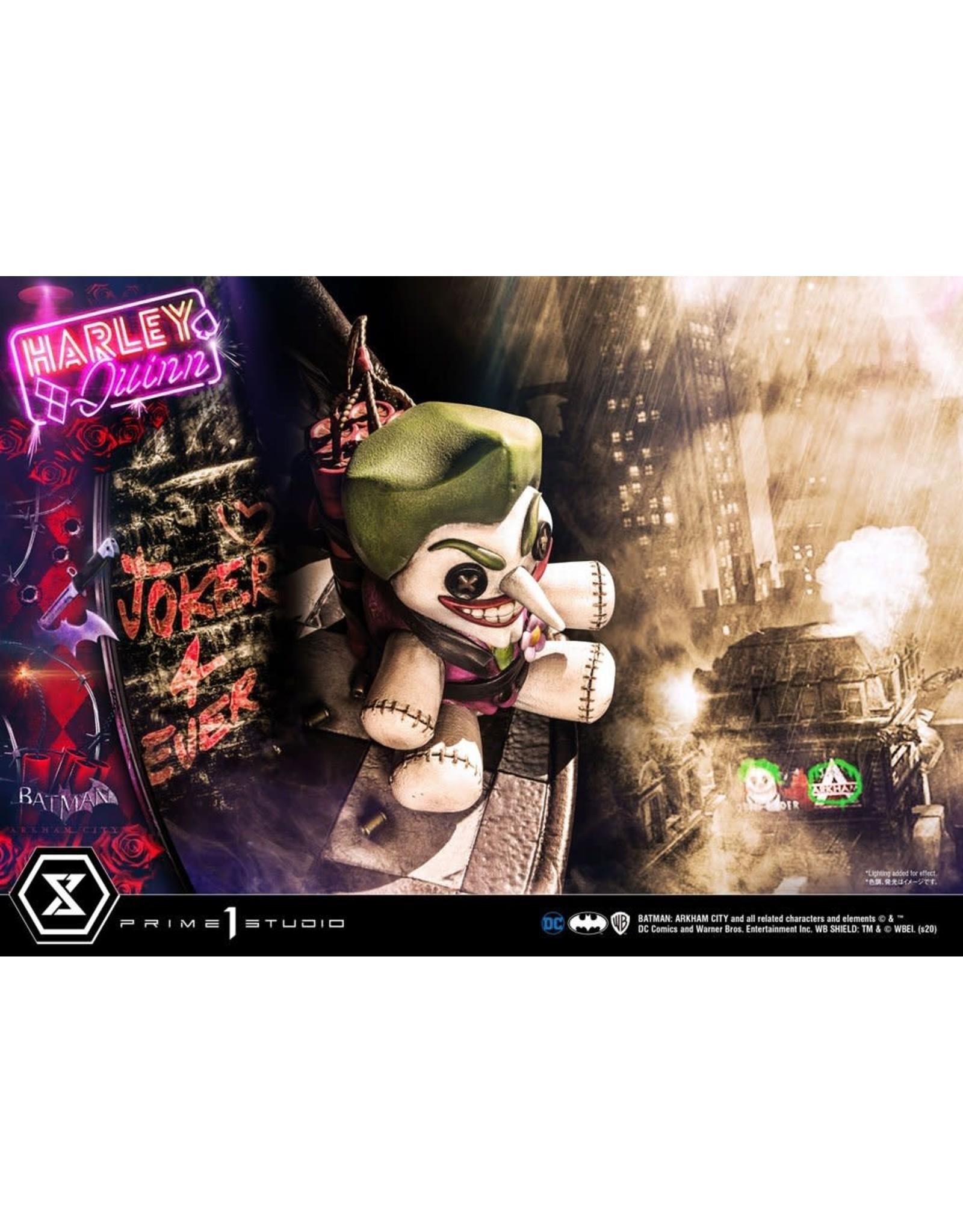 Prime 1 Studio BATMAN ARKHAM CITY 1:3 Scale Statue 58cm - Harley Quinn
