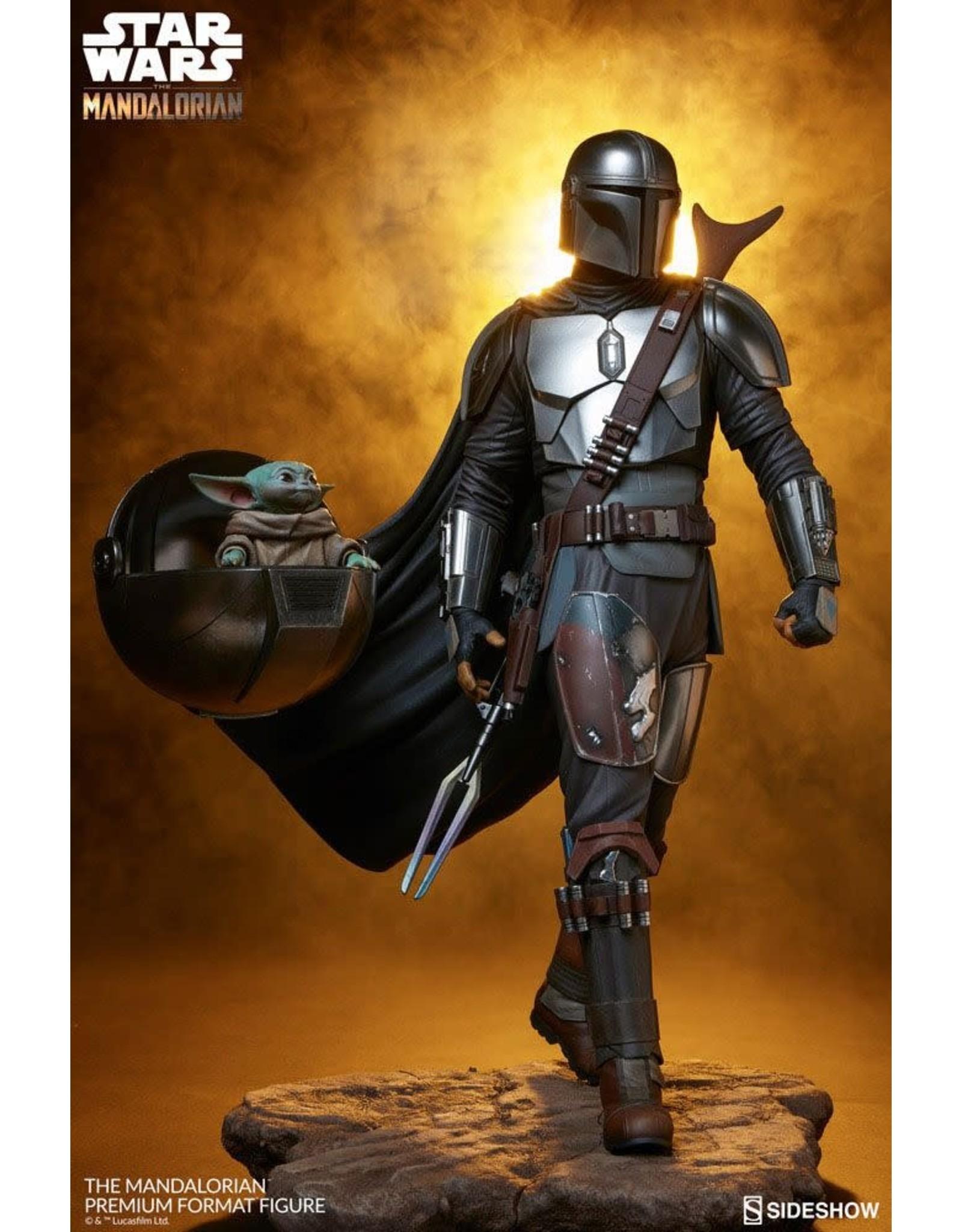 Sideshow Collectibles STAR WARS Premium Statue 1/4 Scale 51cm - The Mandalorian