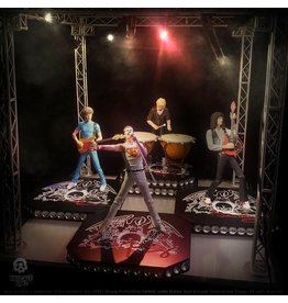 Knucklebonz QUEEN Rock Iconz Statue 4-Pack Limited Edition 23 cm