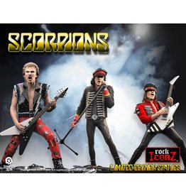 Knucklebonz SCORPIONS Rock Iconz Statue 3-Pack Limited Edition 23 cm