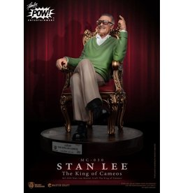 Beast Kingdom STAN LEE Master Craft Statue 33cm - The King of Cameos