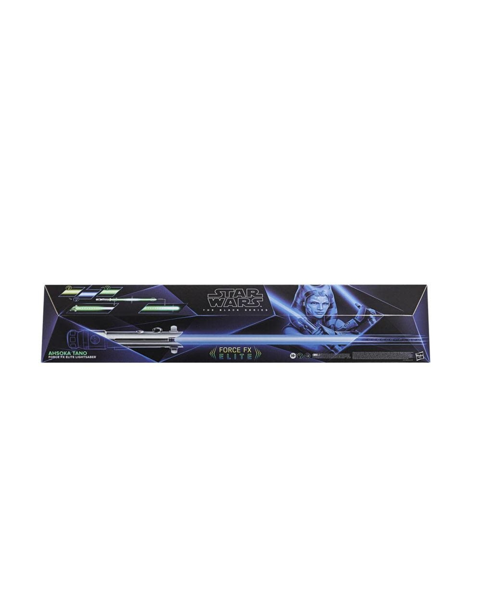 Hasbro STAR WARS The Black Series Replica 1/1 Force FX Elite Lightsaber - Ahsoka Tano