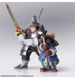 Square-Enix FINAL FANTASY IX Bring Arts Action Figures - Vivi Ornitier & Adelbert Steiner