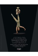 Attakus STAR WARS Elite Collection 19cm  - Yoda And Luke Dagobah Trainning