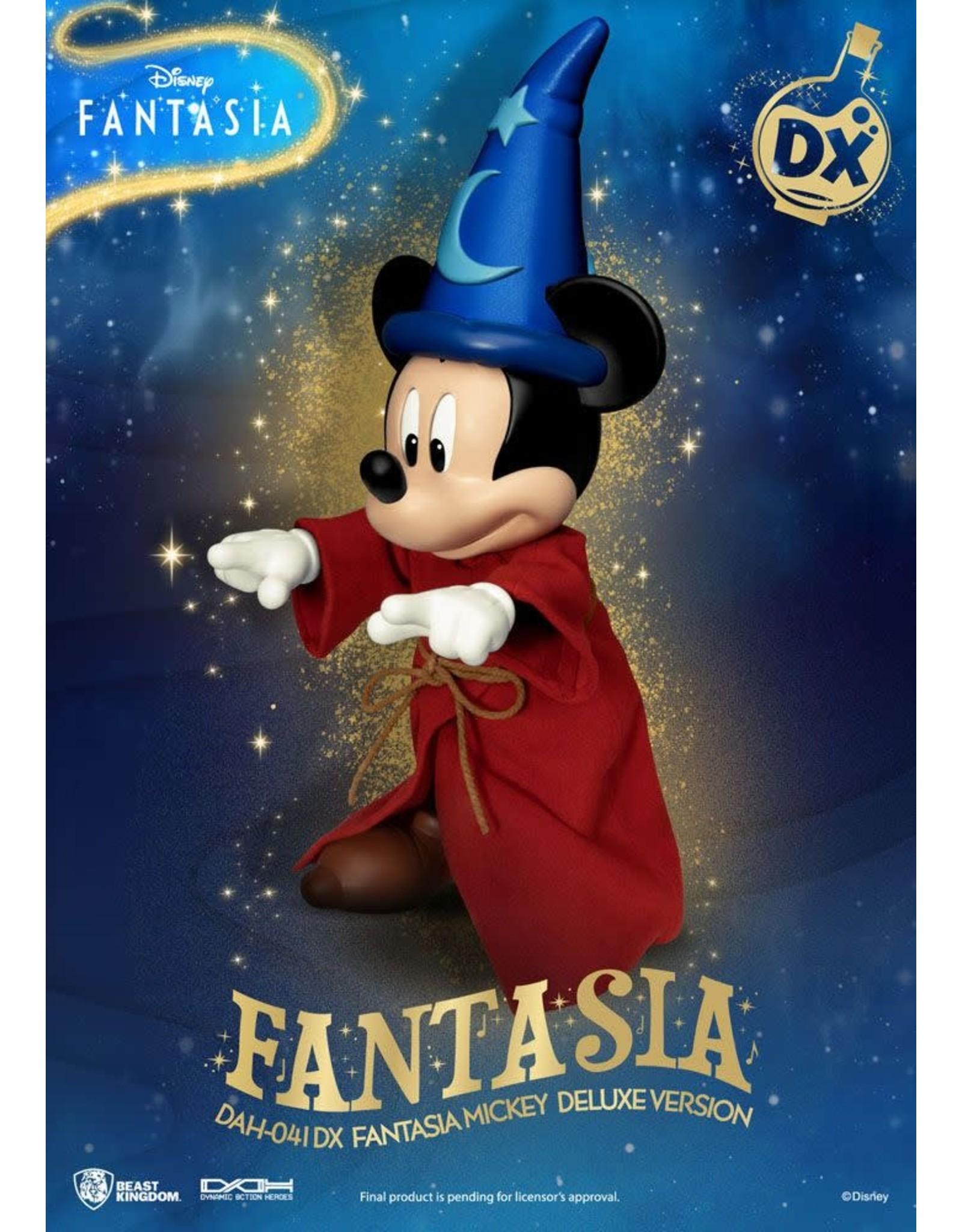 Beast Kingdom FANTASIA Dynamic 8action Heroes figure 21cm - Mickey Fantasia Deluxe Version