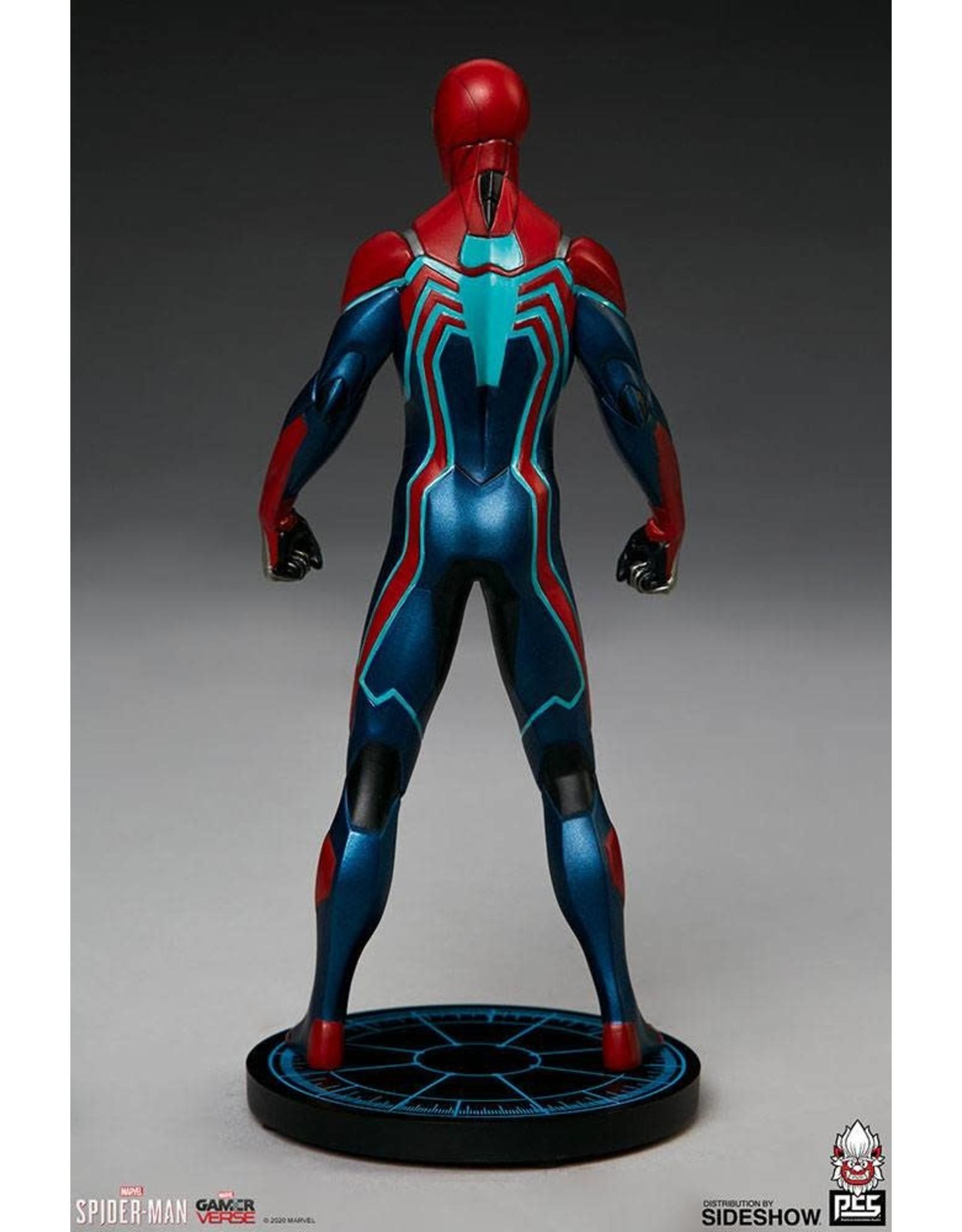 PCS Collectibles SPIDER-MAN Statue 1/10 Scale 19cm - Velocity Suit