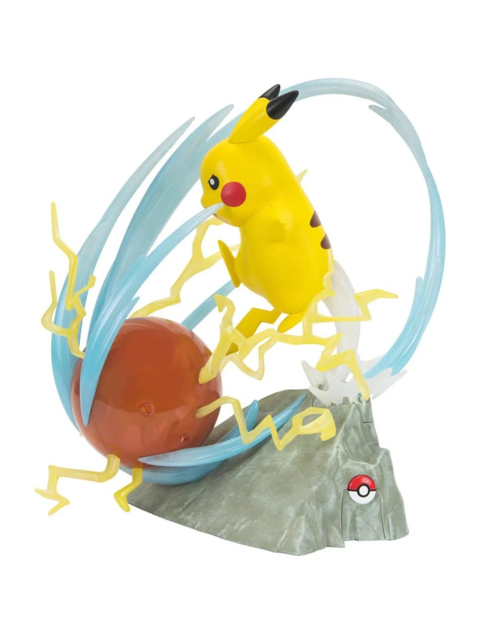 BOTI POKEMON 25th anniversary Light-Up Deluxe Statue 33cm - Pikachu