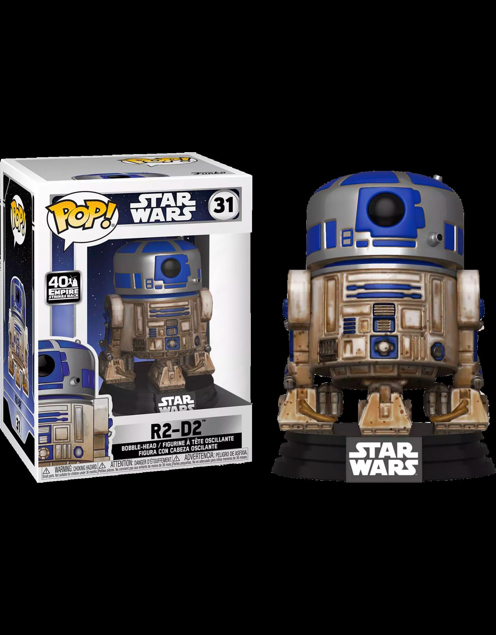 Funko STAR WARS POP! N° 31 - Dagobah R2-D2 Special Edition