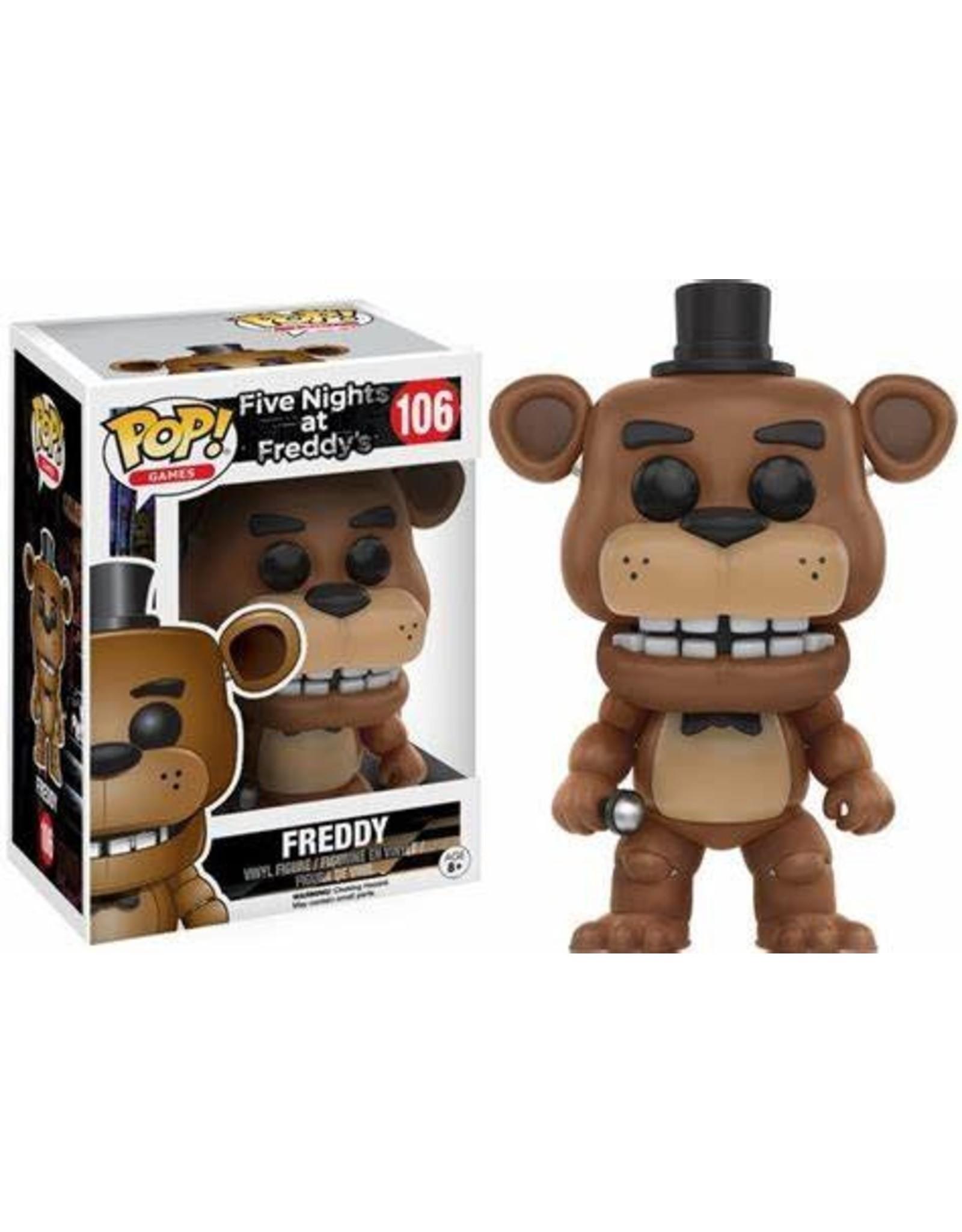 Funko FIVE NIGHTS AT FREDDY'S POP! N°106 9cm - Freddy
