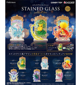 POKEMON Stained Glass Collection 6pcs
